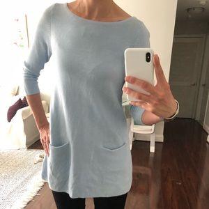 COS light blue woven tunic